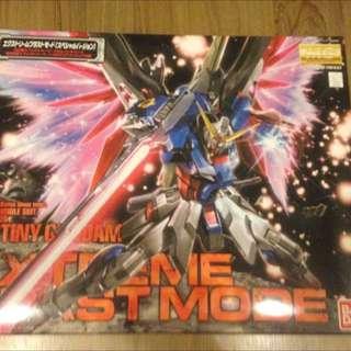 Destiny Extreme Blast Mode - Bandai Gundam MG 1/100