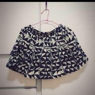 幾何圖形 短裙 裙子