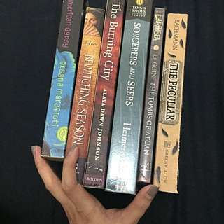 Assorted Books All For 600