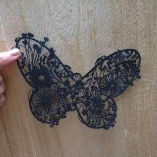 紙雕-蝶2