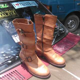 Dr Martens Buckle Boots