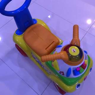 Fisher Price 3 In 1 Push 'N Scoot Ride On