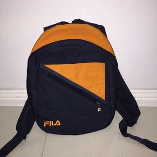 Small Vintage/Retro FILA Backpack