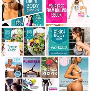Ultimate Fitness Guide PDF Bundle!!