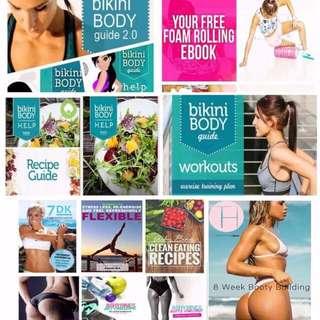 Ultimate Fitness Guide PDF Bundle!!