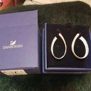 Swarovski Hoop-Style Earrings