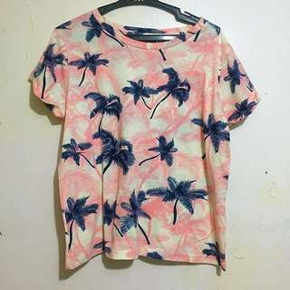 Oxygen Summer Inspired Cropped Top