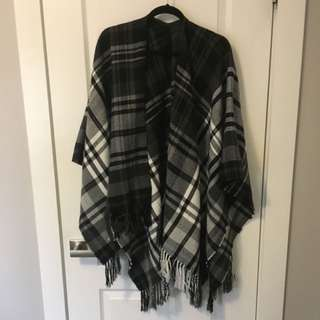 Ardenes Plaid Shawl