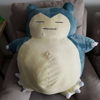 Snorlax soft toy