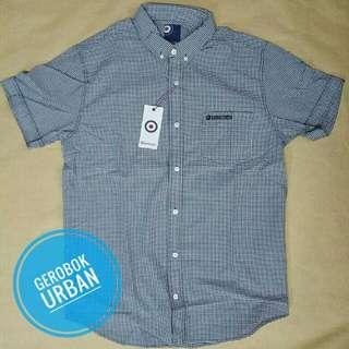 Lambretta Plaid SS shirt