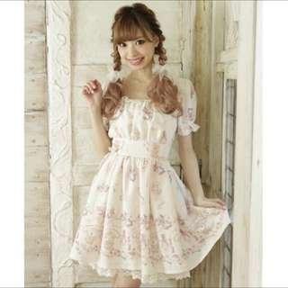 Liz Lisa x My Melody 美樂蒂聯名限量款洋裝