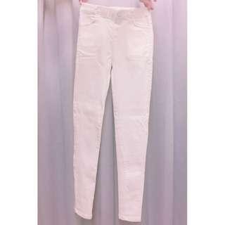 色褲(白色)