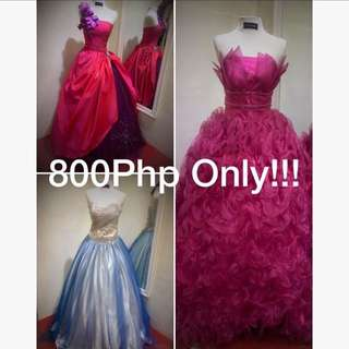 BALL GOWN RENTAL PROMO!