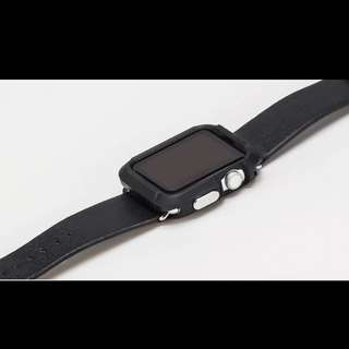 Iwatch Apple Full Protective Cover In Black