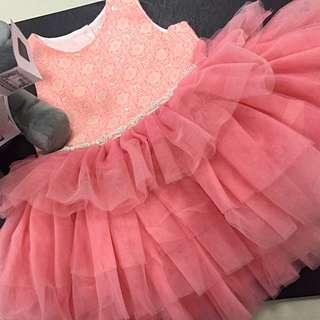 Princess Ruffled Dress