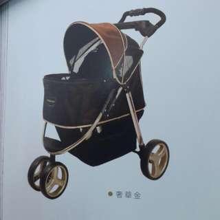 🚚 ibiyaua  全新奢華尊爵鋁合金寵物推車