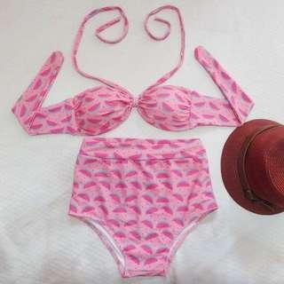Two Piece Swimsuit Bikini Swimwear