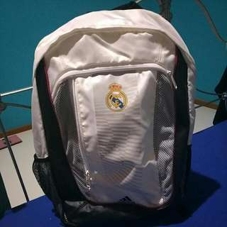 Ori 100% Adidas Real Madrid Unisex Backpack