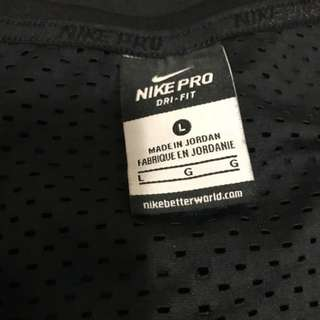 Black Nike Dri-Fit Size Large