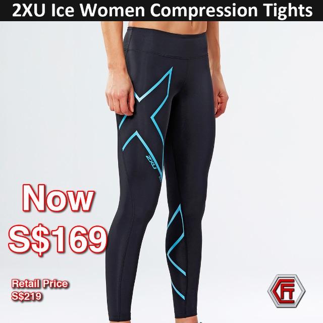 39c7438bc 2XU WOMENS ICE MID-RISE COMPRESSION TIGHT