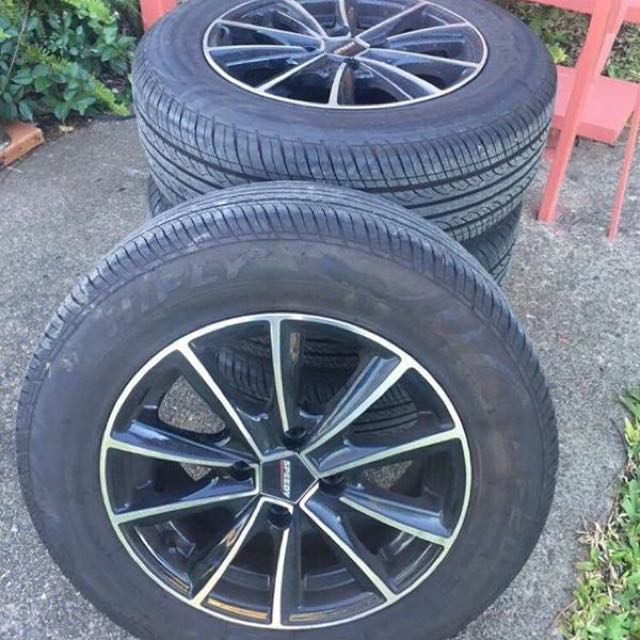 4x Speedy Covert Rims and Tyres
