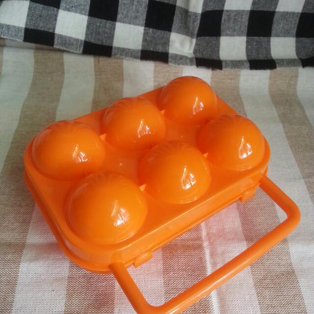 露營攜帶蛋盒(6入)