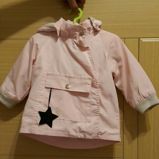 星星吊飾風衣外套
