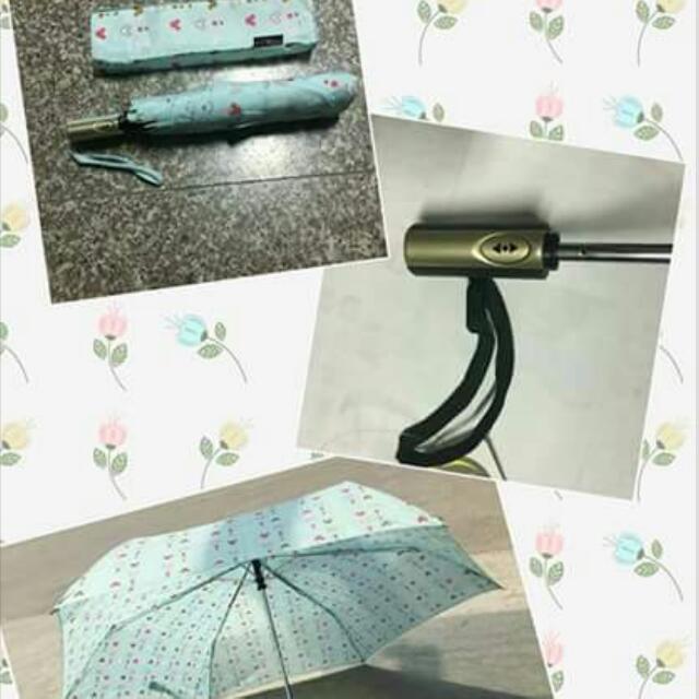 靚靚米奇米妮全自動開關傘 UPF 40+ #MAYSALE