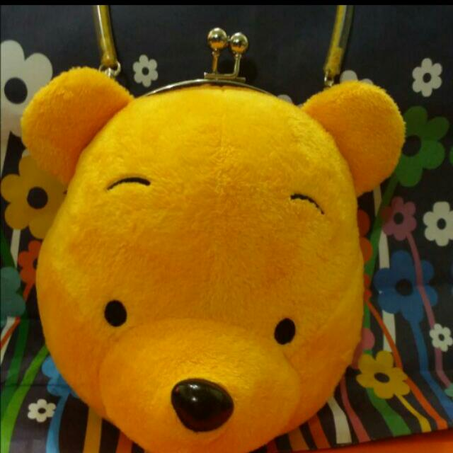維尼 Disney 口金包 零錢 手提包 pooh