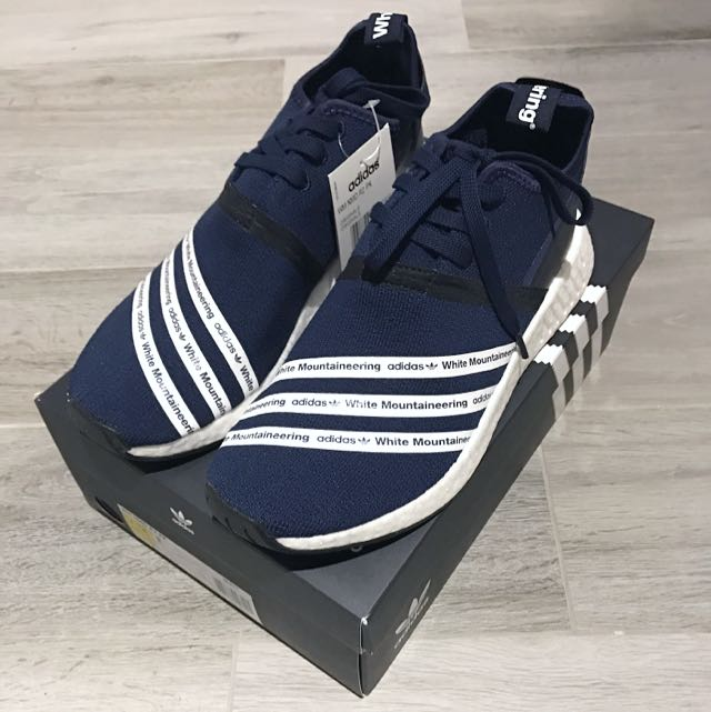 outlet store f8947 602db Adidas NMD R2 White Mountaineering WM PK US9