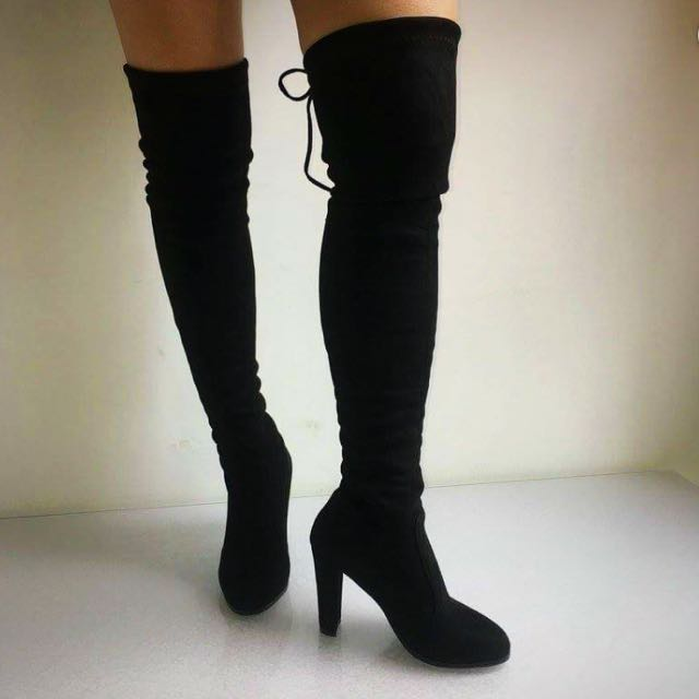 Thigh high Boots - Size 6