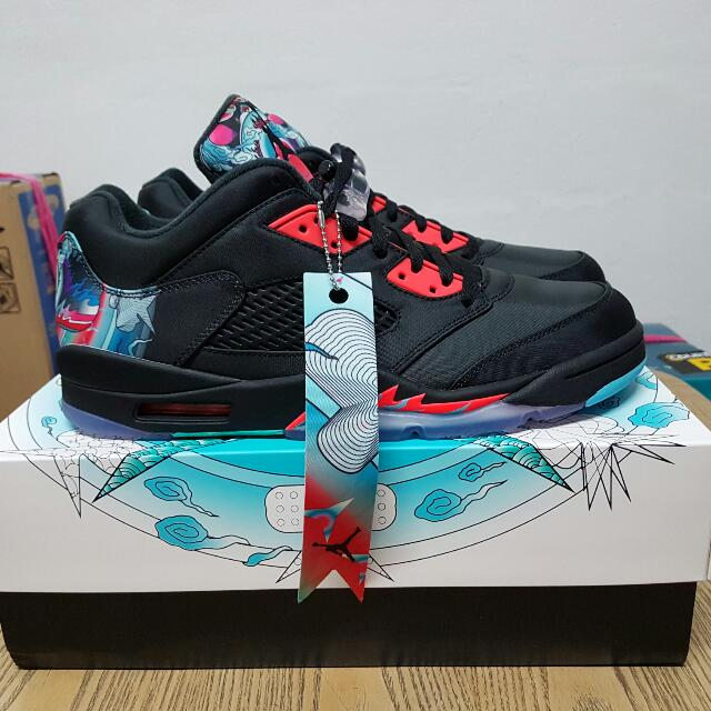 quality design 7123f f56eb Air Jordan 5 Low Chinese New Year
