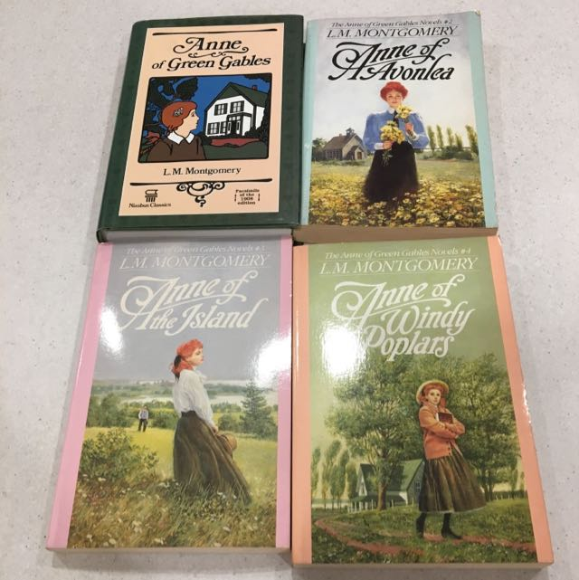 Anne Of Green Hables 4book Set