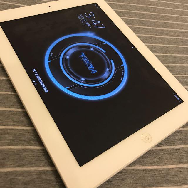 Apple iPad 4th 銀16g