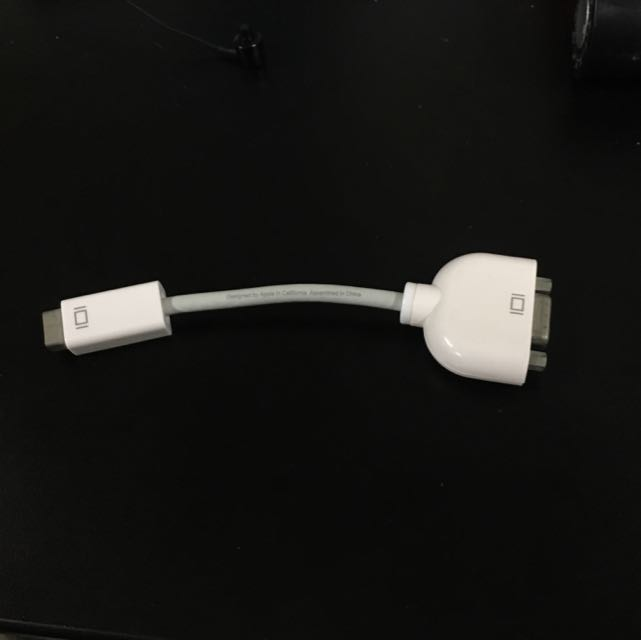 Apple Mini-DVI To VGA Adapter