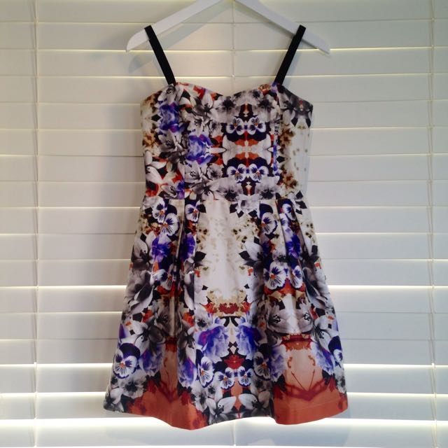 Asos Jacquard Floral Print Formal Dress #decluttermarch