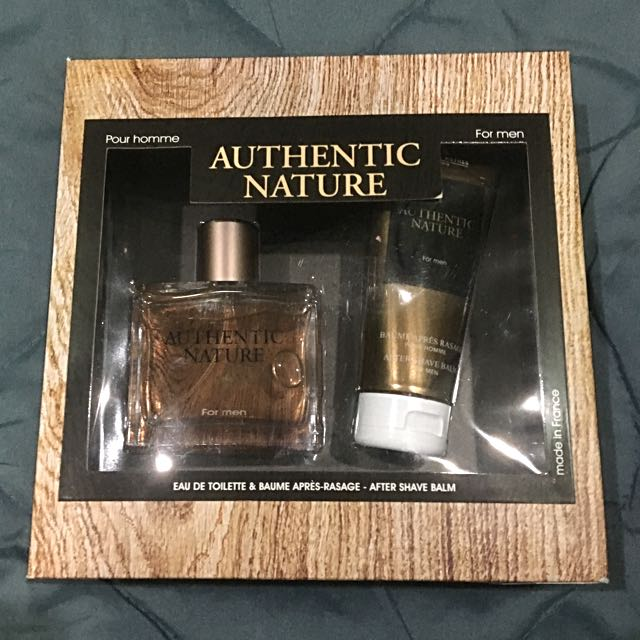 authentic nature with after shave balm/lotion