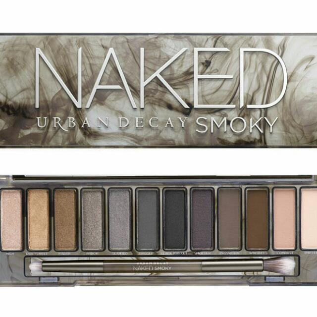 Authentic Urban Decay Naked Smoky Palette