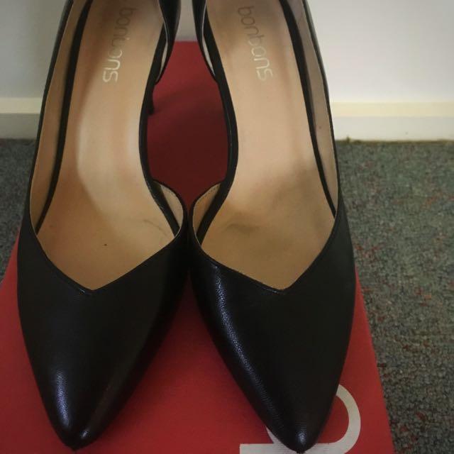 Bonbons Black Heels - PRICE REDUCTION