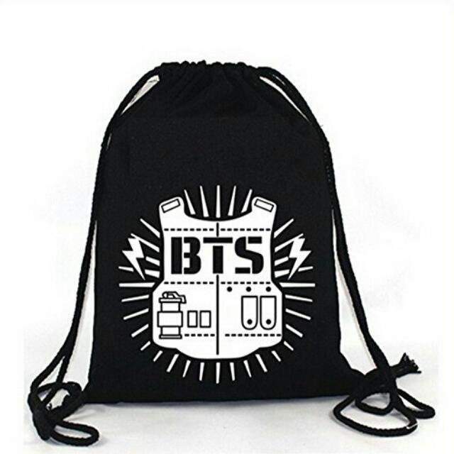 BTS DRAWSTRING BAG