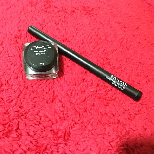 Bys Gel Liner And Brow Pen(bundle)
