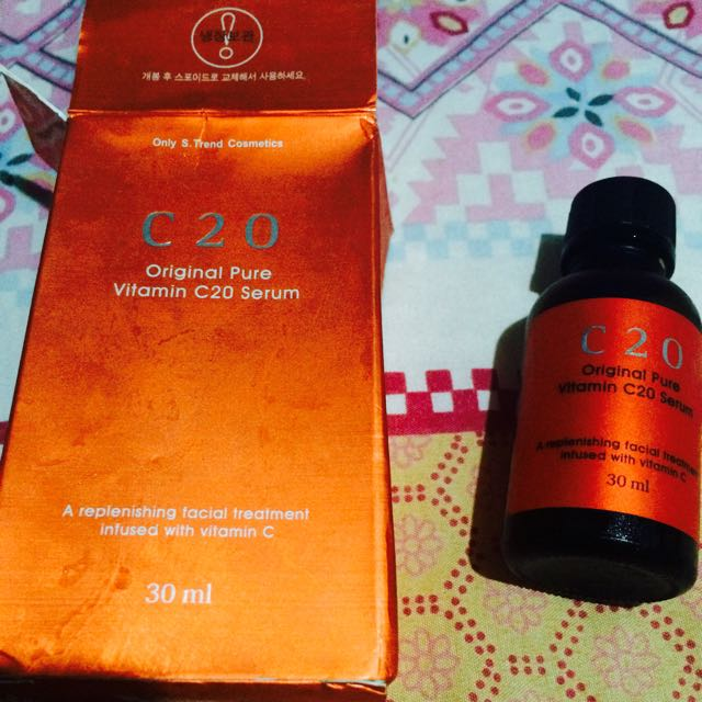 C20 original pure vitamin C serum