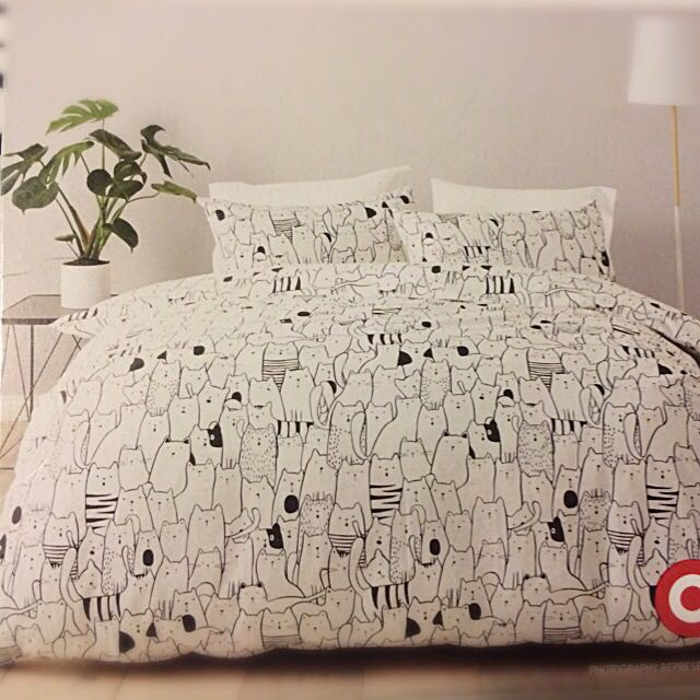 Cat Doona Cover Set BNWT