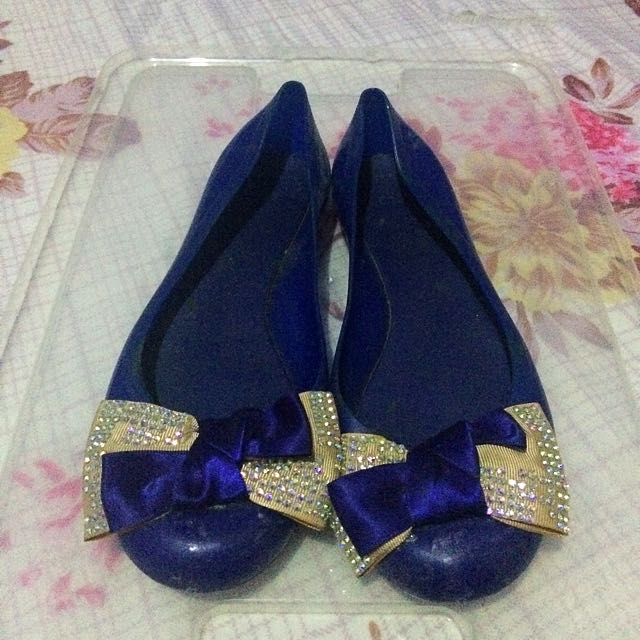 Celine Royal Blue (Jelly Shoes)