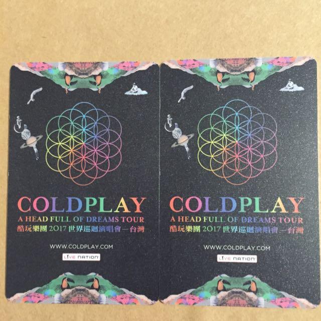 Coldplay2017世界巡迴演唱會-台灣