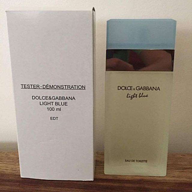 Dolce & Gabbana light blue perfume 100 ml