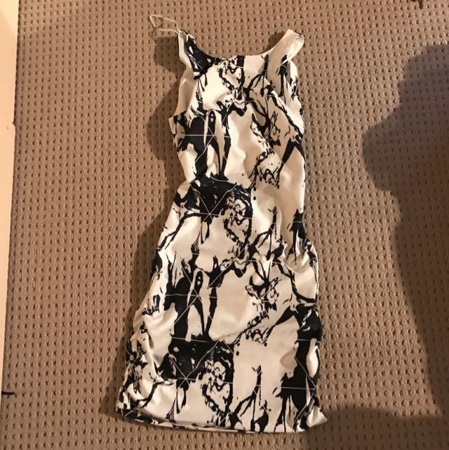 Dotti Marble Print Dress