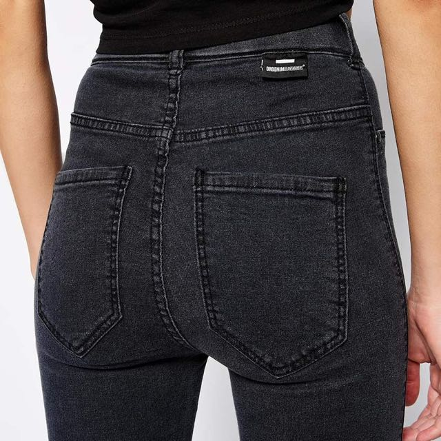 big sale big discount of 2019 diversified in packaging Dr Denim High-waist grey Jeans/Jeggings, Women's Fashion ...