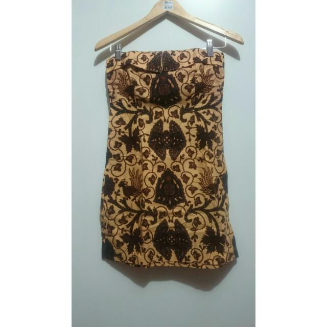 Dress Kemben Batik