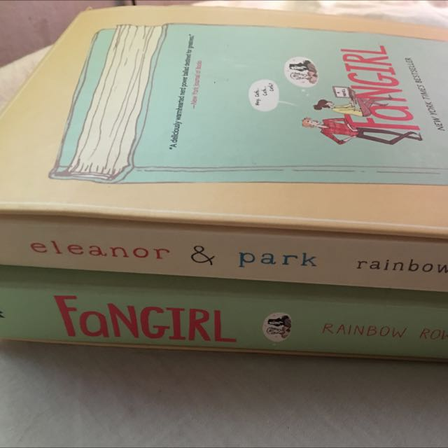 Eleonor And Park & Fangirl Book